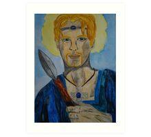 Saint Oswin of Deira Art Print