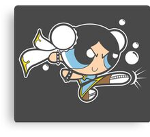 Powerpuff fighter II Canvas Print