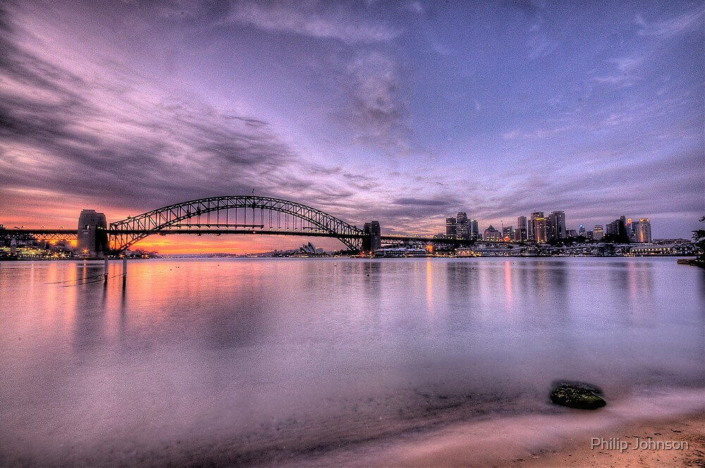 Secret Beach - Moods Of A City - The HDR Experience by Philip Johnson