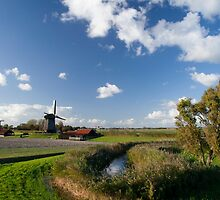 Three mills in a row by Rob Schoon