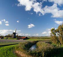 Three mills in a row by Rob Schoon