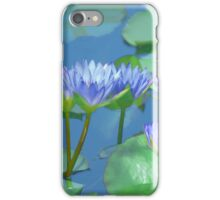 Water Colored Lilies iPhone Case/Skin