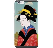 ORIENTAL BEAUTY...a self portrait! iPhone Case/Skin