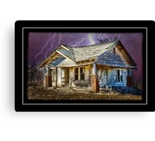 On A Dark Stormy Night Canvas Print
