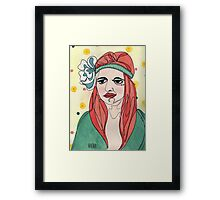 Flora Framed Print