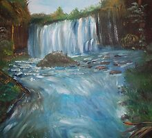 Waterfall by Monika Howarth