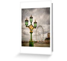 The Eye is the Lamp of the Body Greeting Card