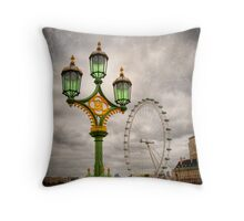 The Eye is the Lamp of the Body Throw Pillow
