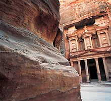 The Khazneh (Treasury), Petra, Jordan  by Petr Svarc