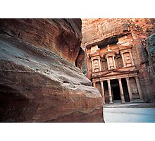 The Khazneh (Treasury), Petra, Jordan  Photographic Print