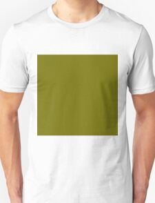 Beautiful Cushions/ Plain Bronze Yellow Unisex T-Shirt