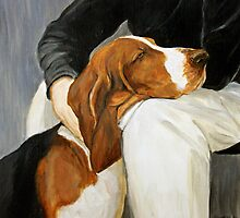 Basset Hound by Charlotte Yealey