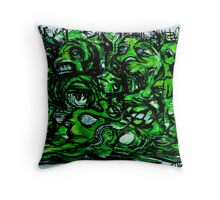 Abduction Junction Throw Pillow