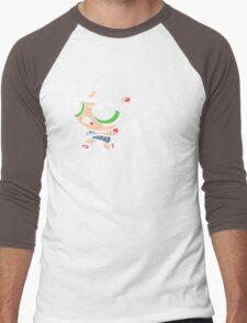 Powerpuff fighter III Men's Baseball ¾ T-Shirt