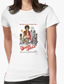 Sugar Hill (Green) Womens Fitted T-Shirt