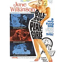 The Bellboy and the Playgirls (Red) by PulpBoutique