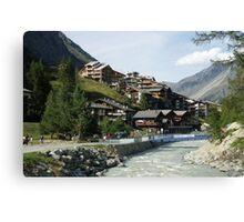 Zermatt Switzerland Canvas Print