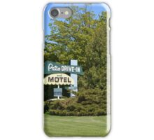The Patio DRIVE-IN and MOTEL iPhone Case/Skin