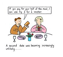 A second date was looking increasingly unlikely... Photographic Print
