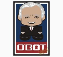 George Bush Sr Politico'bot Toy Robot 2.0 by Carbon-Fibre Media