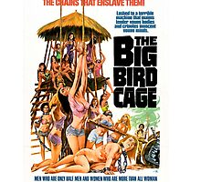 The Big Bird Cage (Pink) by PulpBoutique