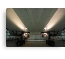 Concorde ...a study in symmetry . Canvas Print