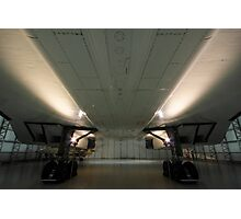 Concorde ...a study in symmetry . Photographic Print