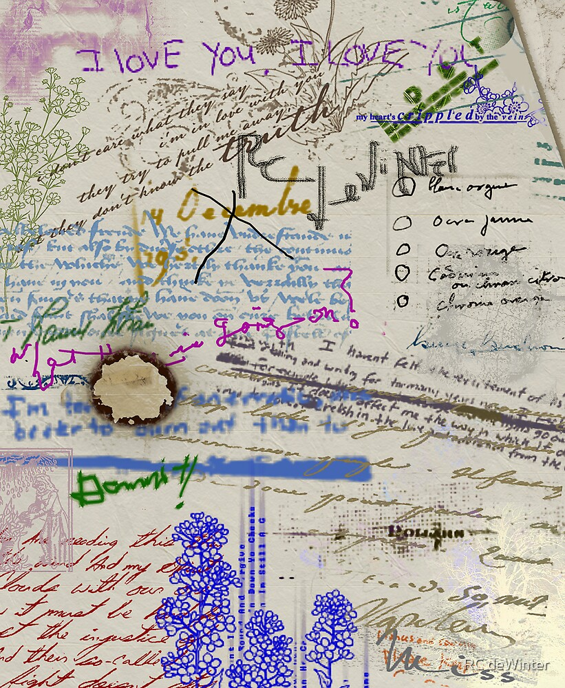 Page from the Madwoman's Notebook by RC deWinter