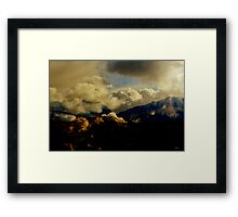 The Glen 1890: The Stalk. Framed Print