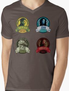 Brownstone Brewery: Elementary Set #1 Mens V-Neck T-Shirt