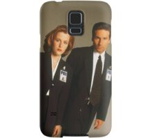 Dana Scully Fox Mulder X Files Gillian Anderson David Duchovny  Samsung Galaxy Case/Skin
