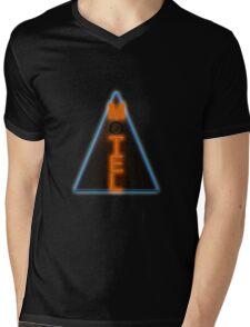 Motel Neon Mens V-Neck T-Shirt