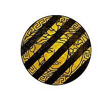 Black and yellow Versace Photographic Print