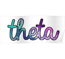 Theta Galaxy Poster