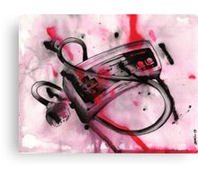 Controler Canvas Print