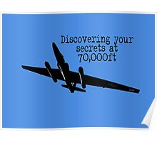 Discovering your secrets at 70,000ft by #fftw Poster