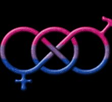 Bisexual Pride Gender Knot by LiveLoudGraphic