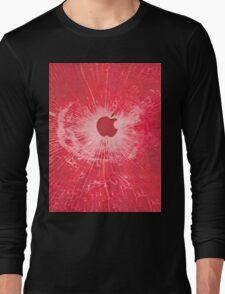 RED BULLET HOLE SMARTPHONE CASE (Graffiti) Long Sleeve T-Shirt