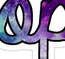 AOPI Galaxy Sticker