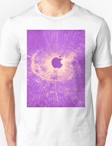 PURPLE BULLET HOLE SMARTPHONE CASE (Graffiti) Unisex T-Shirt