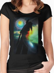 The Explorer Women's Fitted Scoop T-Shirt