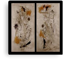Righteous Judgment The Diptych Canvas Print