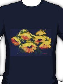Sunflowers - oil painting on linen T-Shirt