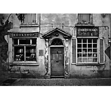 The Old Book Shop Photographic Print