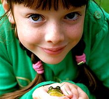 pippi & her frog by Jabelico