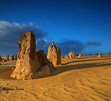 Stand and Deliver, Nambung NP, WA by Malcolm Katon