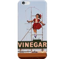 skipping girl 10 iPhone Case/Skin