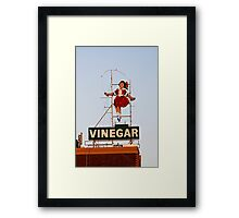 skipping girl 10 Framed Print