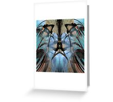 Mystical Mask Greeting Card