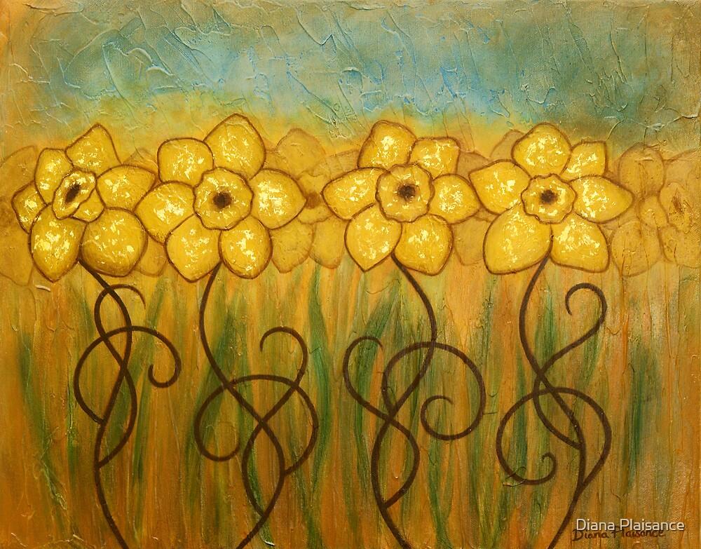 Daffodils by Diana Plaisance